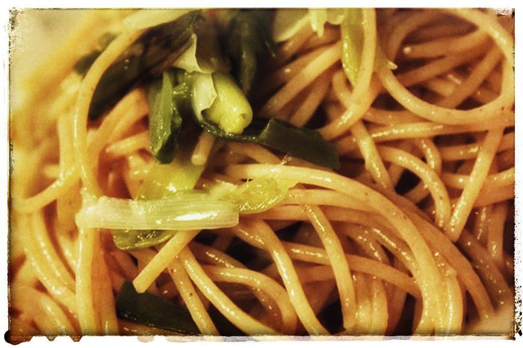 spaghetti porro