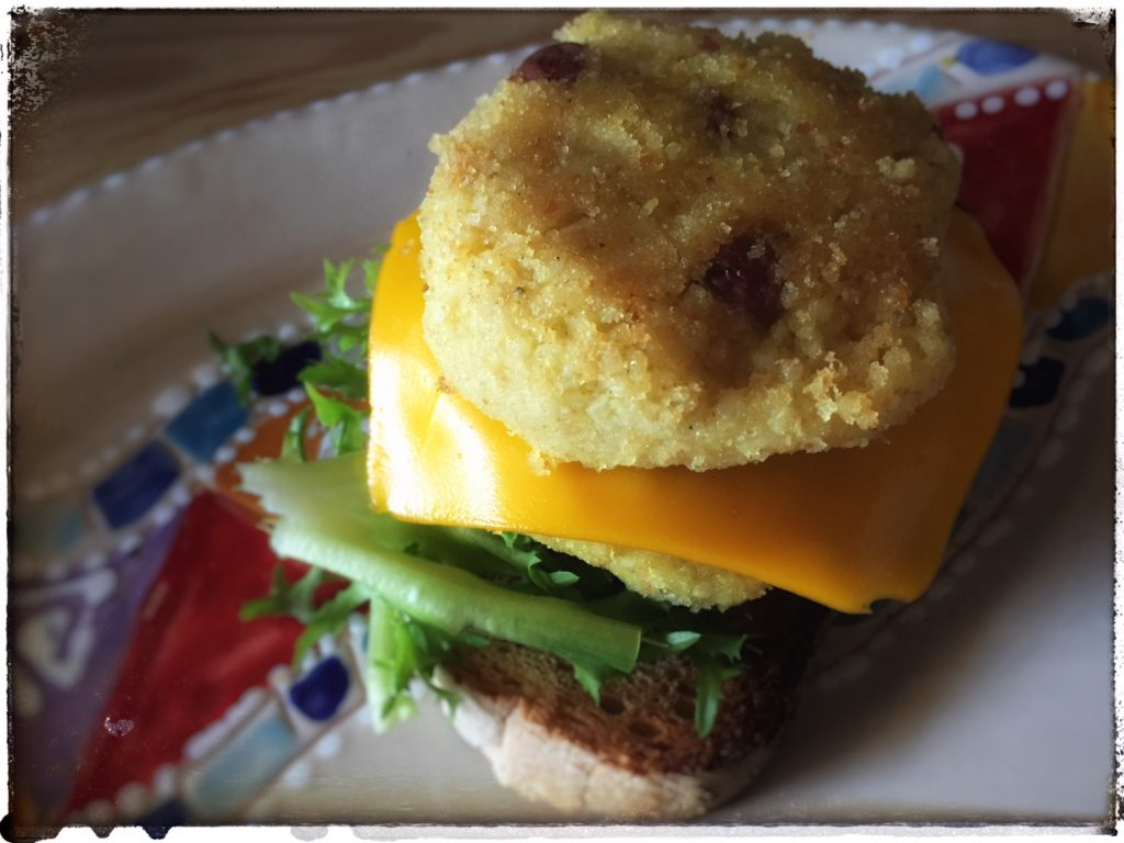 burger cavolfiore e miglio