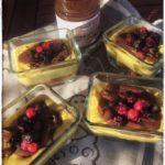 dolce frutta e cioccolata