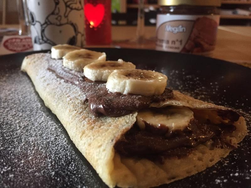 crepe di cacao e nocciole
