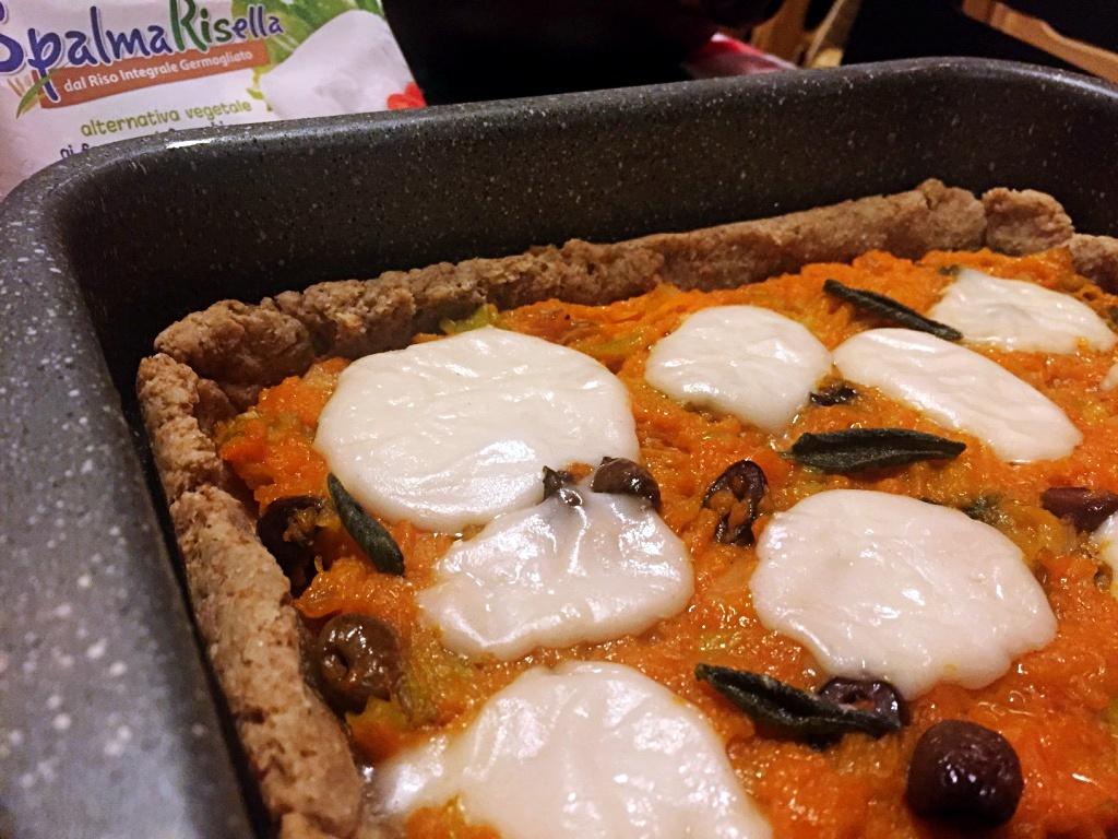 pizza rustica zucca